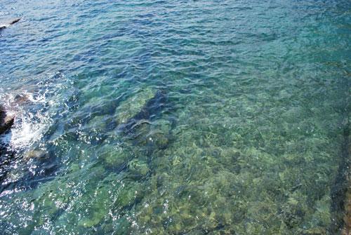 ポルトヴェネレの海