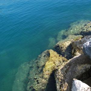 ポルトヴェネレ海の中