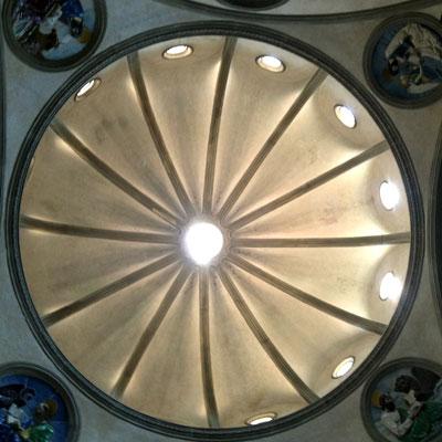 パッツィ礼拝堂天井