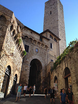 サンジミニャーノの塔