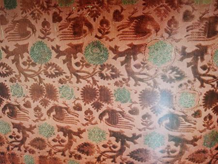 織物の模様