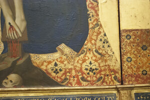 絵画の中の織物