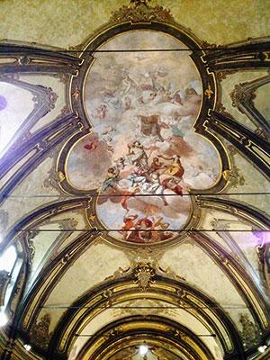 ミラノ聖フランチェスコ教会天井