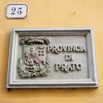 プラート県庁看板