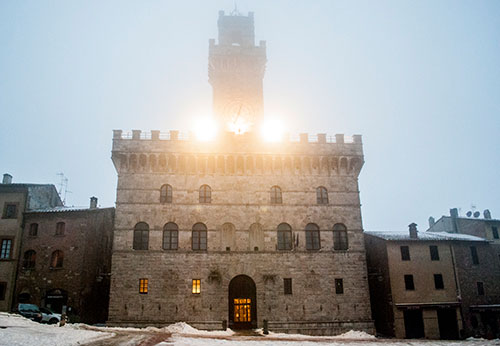モンテプルチャーノ市庁舎