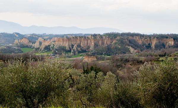 レ・バルツェの風景