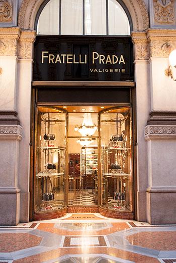 ミラノのプラダ本店