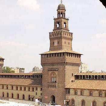 スフォルツァの城ミラノ