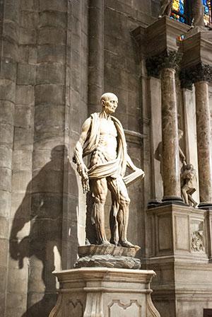 ミラノのドゥオモ聖バルトロメオ