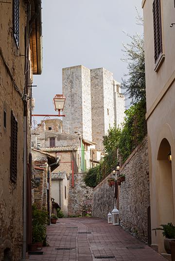 サンジミニャーノの双子の塔