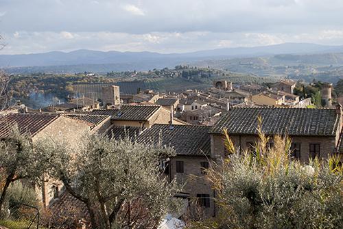 サンジミニャーノの眺め