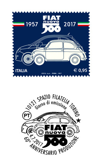 切手500