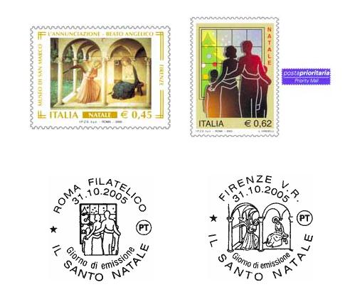 フラアンジェリコの切手