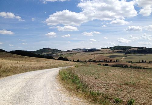 オルチャ渓谷道
