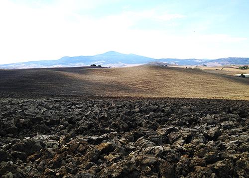 オルチャ渓谷の土
