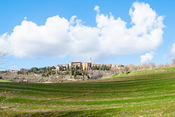 ピエンツァの風景
