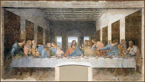 レオナルドダヴィンチ最後の晩餐