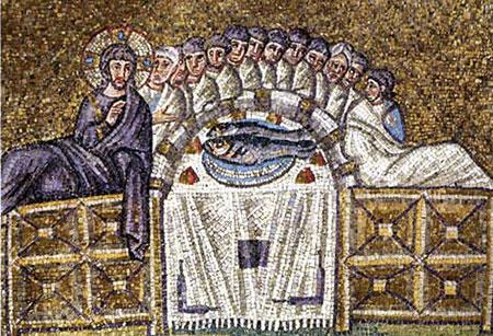 最後の晩餐さんタポリナーレ聖堂