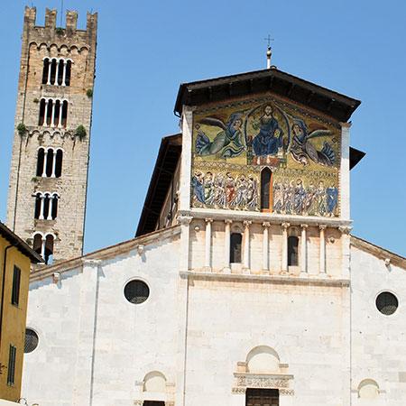 ルッカの聖フレディアーノ教会