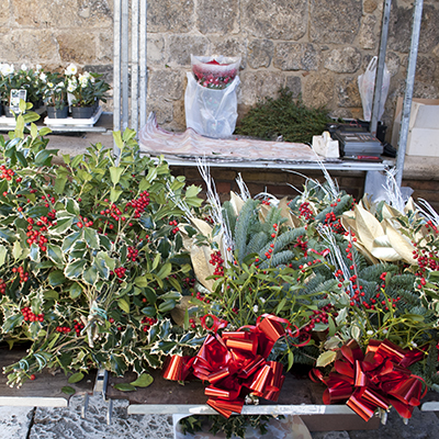 サンジミニャーノの花屋