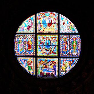 シエナのドゥオモ丸窓