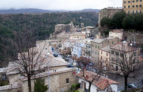 高台から眺めたソラーノの町