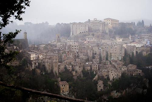 トスカーナの秘境の村 ソラーノ