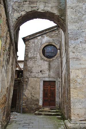 ソラーノの教会外観