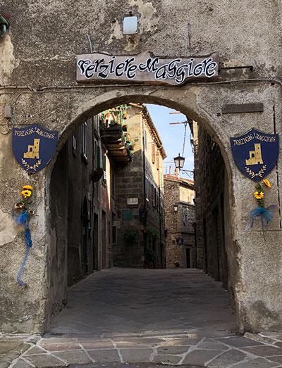 サンサルヴァトーレ村入口