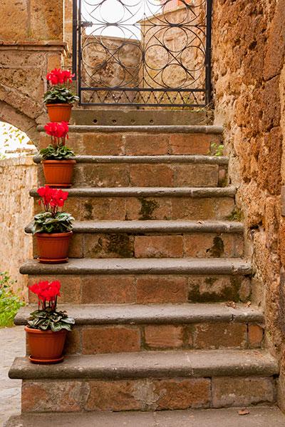 チヴィタバーニョレージョ階段
