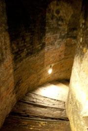 聖パトリッツィオの井戸の階段