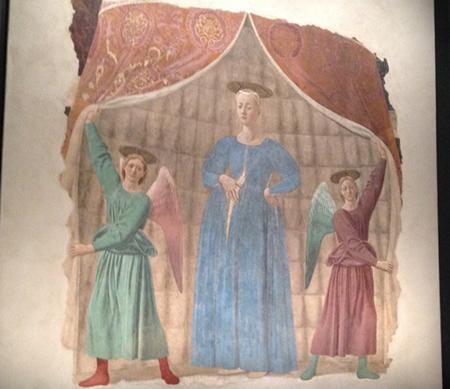 ピエロ・デッラ・フランチェスカ「出産の聖母」