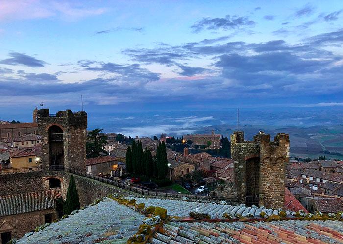 モンタルチーノの城塞から