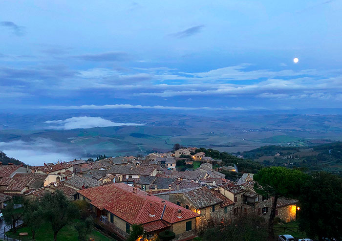 モンタルチーノの景色
