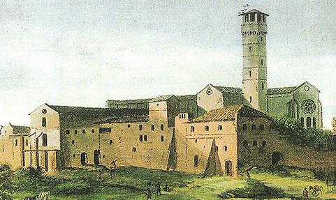 屋根のない修道院サンガルガーノ