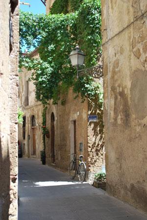 トスカーナの秘境の村ピティリアーノ