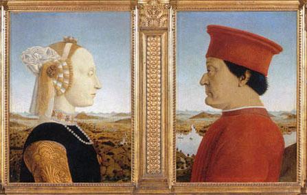 ウルビーノ公夫妻ピエロ