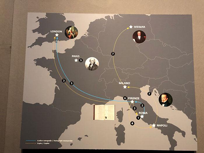 レスター手稿地図