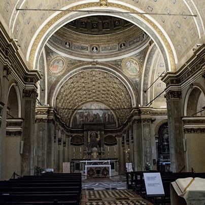 サンサティロ教会内陣