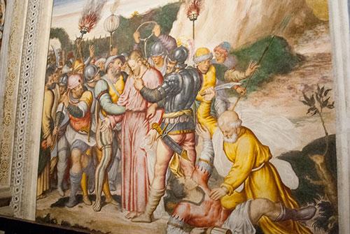 サンマウリッツィオ教会フレスコ画