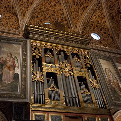 サンマウリッツィオ教会オルガン