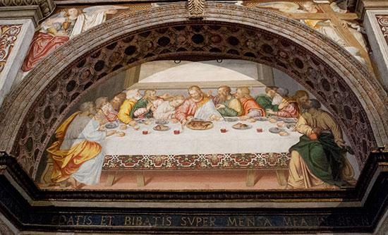 サンマウリッツィオ教会最後の晩餐