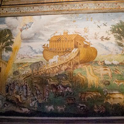 サンマウリッツィオ教会ノアの箱舟