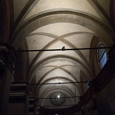 サンサティロ教会身廊