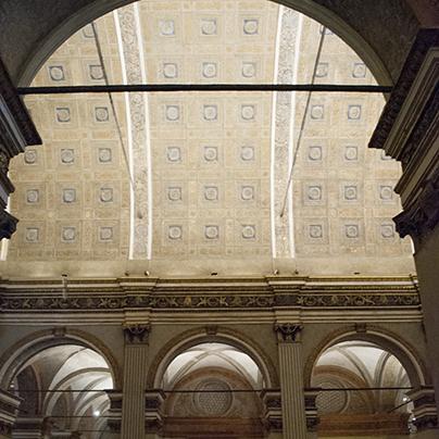 サンサティロ教会天井