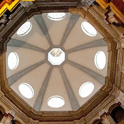 サンサティロ教会クーポラ