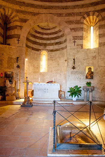 モンテシエペ礼拝堂内部