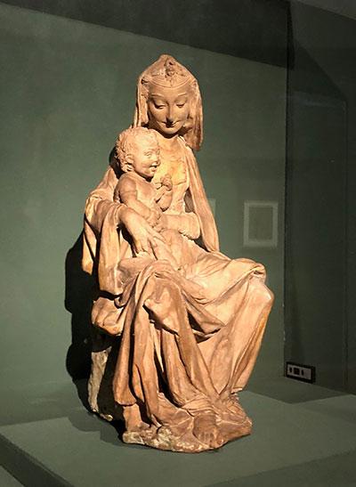 テラコッタ聖母子