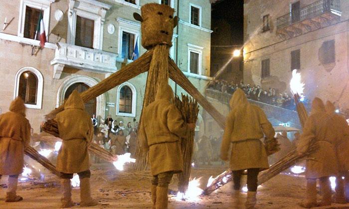 ピティリアーノの祭り