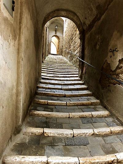 ピティリアーノ階段